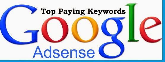 best paying google adsense keywords list