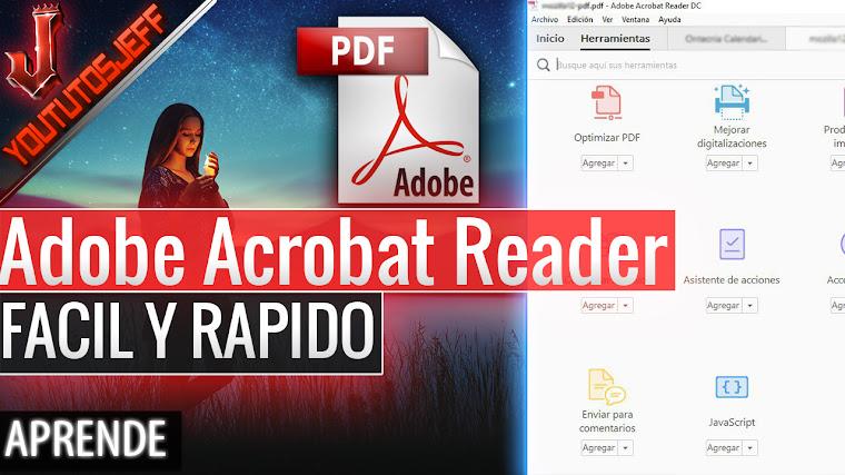 Como Descargar Adobe Reader PDF Gratis Español - Fácil y Rápido