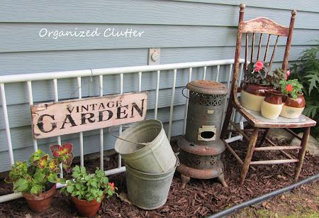 Vintage Garden Vignette