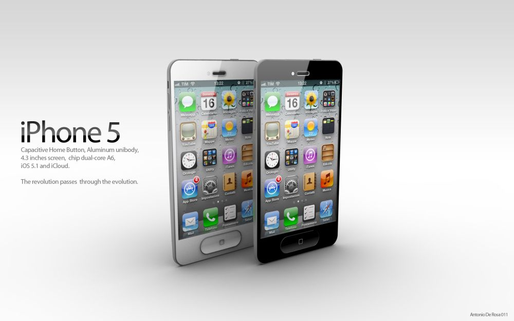 first iphone ever iphone 5 concept after iphone 4s launch spyful 2651