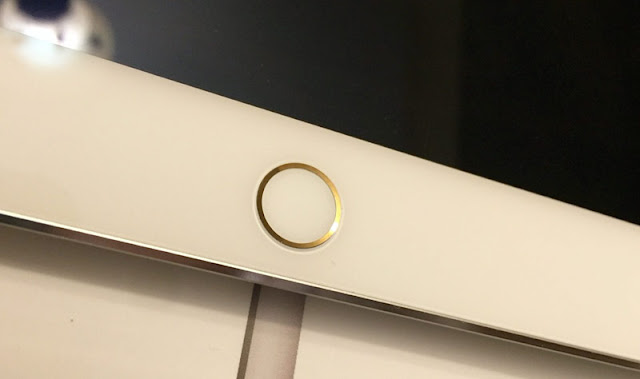 American bought a rare copy iPad Pro silver with a gold ring Touch ID [video]