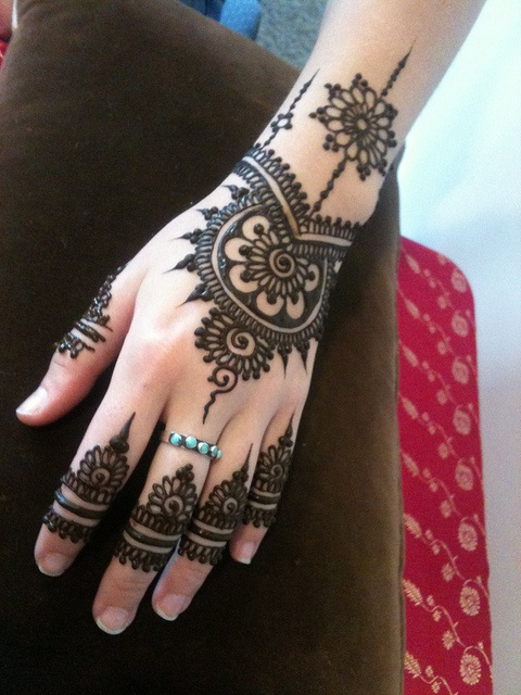 Mehandi arabic designs