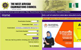 2018 May/June WAEC result is out! See how to check it