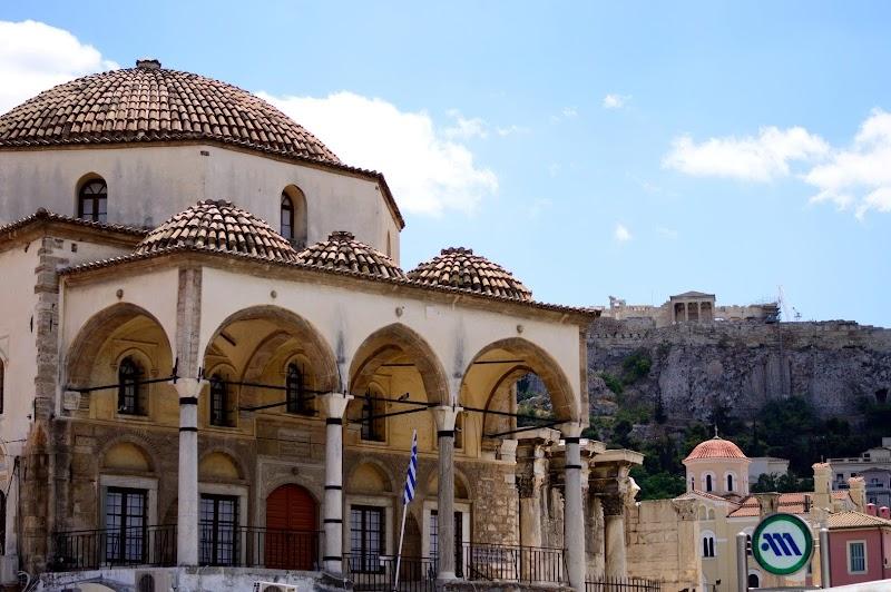 Монастираки - една от основните забележителности на Атина