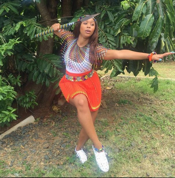 Minniedlamini Shared Puctures Of Her Clad In Modern