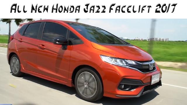 All New Honda Jazz Facelift 2017