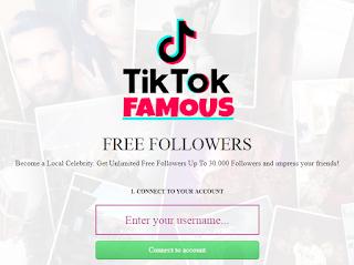 Tik tok famous club || Cara mendapatkan Fans / FOLLOWERS gratis dengan tiktokfamous.club
