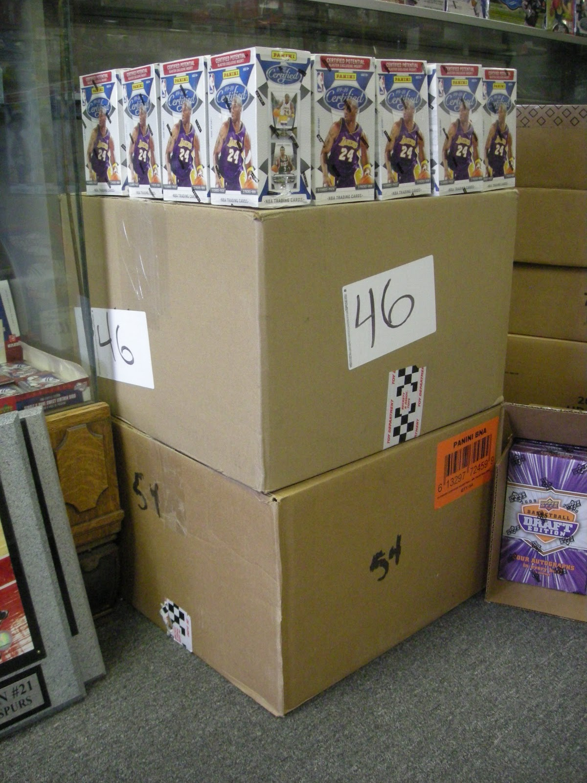 Sports Cards Plus Store Blog: 300 BOXES OF GREAT STUFF DUE IN THIS