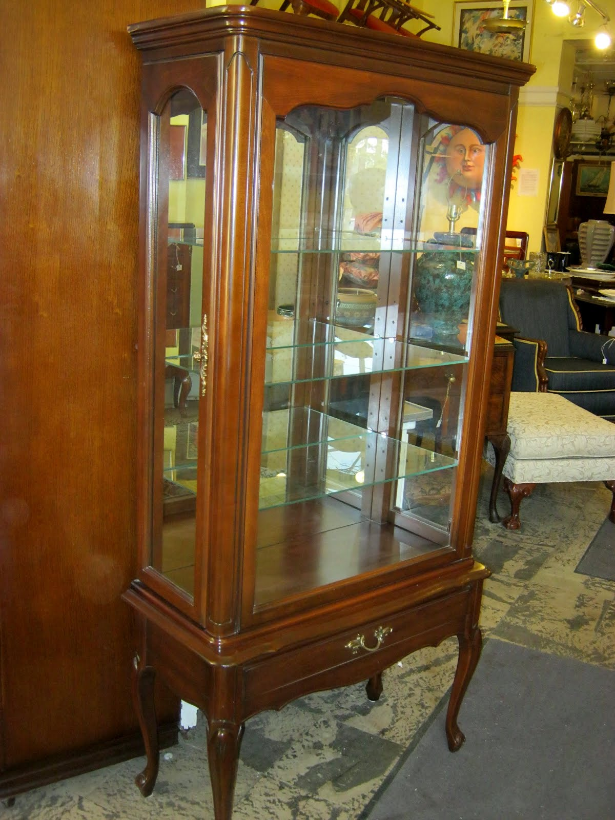 Funk & Gruven A-Z: FRENCH PROVINCIAL CURIO CABINET