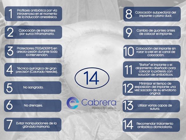 14 puntos para un aumento de pecho seguro