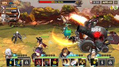 Screenshot Game King's Raid
