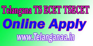 Telangana TS ECET Online Apply TSECET 2017 Online Apply