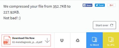 Cara Memperkecil Ukuran File PDF Secara Online Cara Memperkecil Ukuran File PDF Secara Online