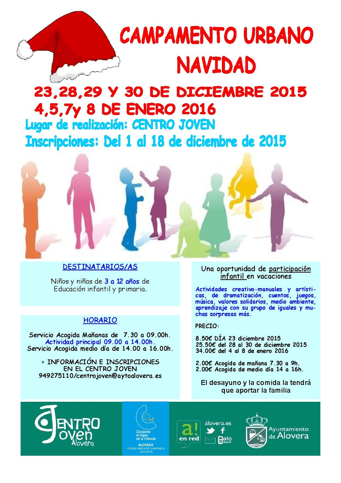 Centro Joven De Alovera Diciembre 2015