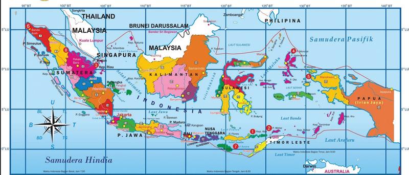 Peta Indonsia