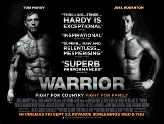 Warrior UK movie quad poster
