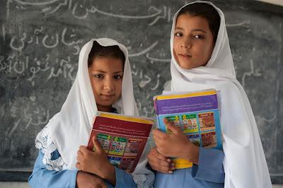 Education: #Afghan refugees studying in refugee villages