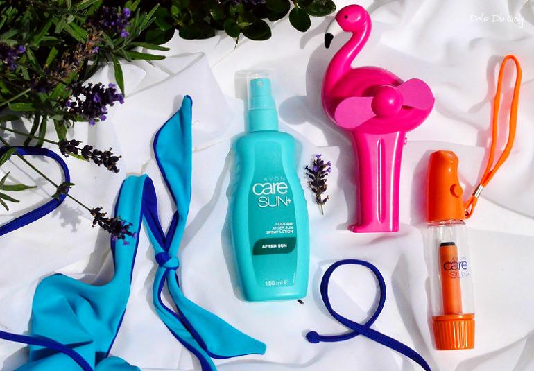 Avon Care Sun+ Chłodzący spray po opalaniu z witaminą C - recenzja