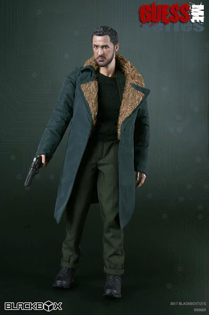"""osw.zone Blackbox Guess Me Series 1/6 Scale """"Replicant Killer"""" 12 inch figure - K from Blade Runner 2049"""