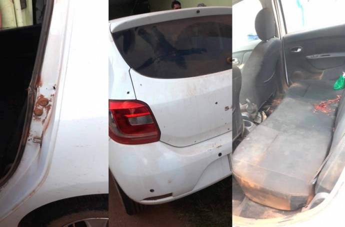 La balacera y violencia se desató  en San Matías el lunes / RRSS