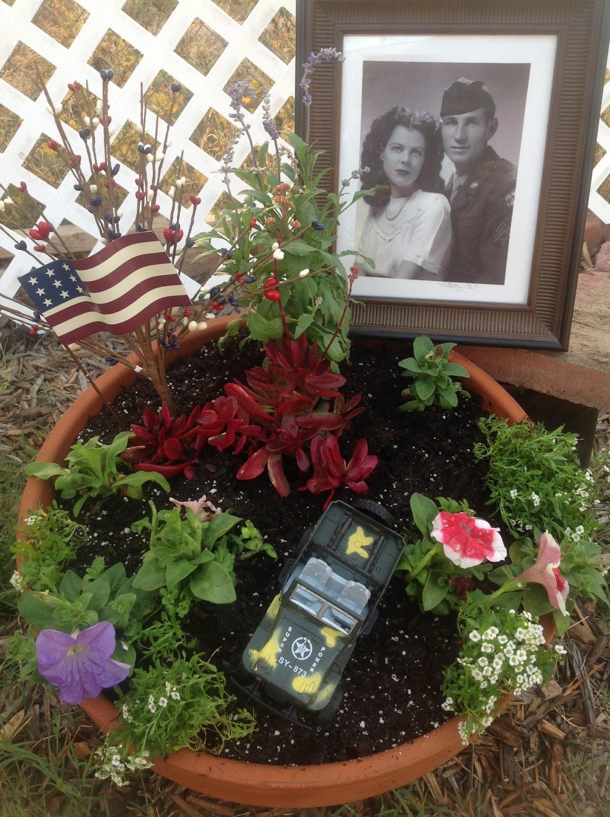 Grandma's Enchanted Fairy Garden: Memorial Day