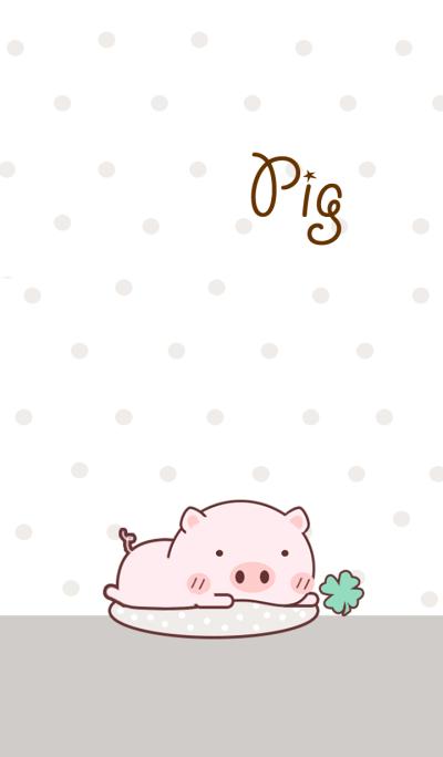 Kuro Fat Pig Cute