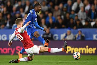 Iheanacho scores as Foxes beat Arsenal 3-1