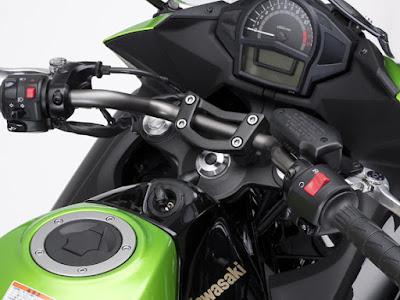 Kawasaki Ninja 400R speed metor