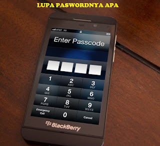 Cara Atasi Lupa password Layar Kunci HP Blackberry