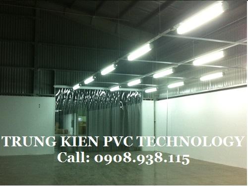 Cửa mành nhựa PVC ngăn côn trùng nhà máy img Việt Nam