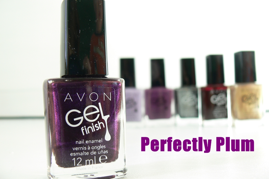 Avon, lakier do paznokci Gel Finish Perfectly Plum