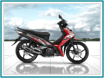 Honda Supra X 125 Spoke FI