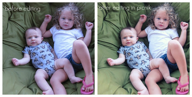 free photo editing options picnik before and after