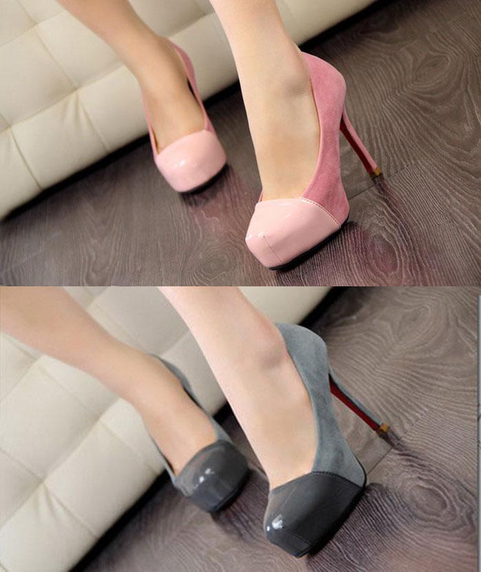 89d2e576e9c890 ArrogantMinnie Preorder - Footwear   Bags  Splice Suede Pumps