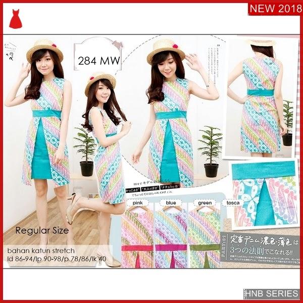 HNB220 Model Dress Tali Ukuran Besar Jumbo Riska BMG Shop
