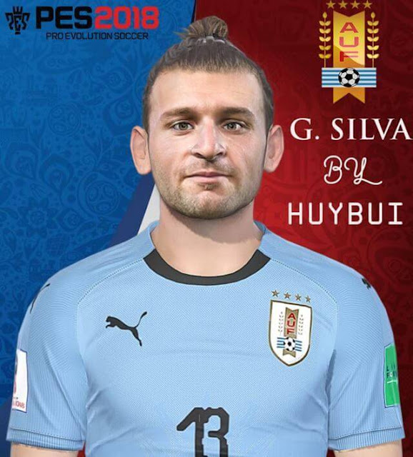 Gaston Silva Face PES 2018