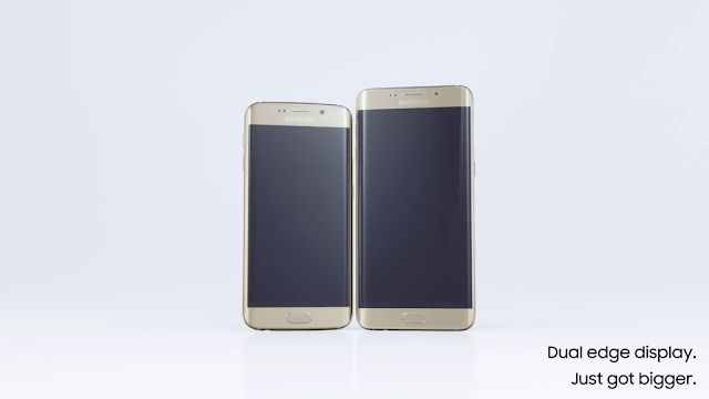 Ponsel terbaru Samsung Galaxy S6 EDGE+,smart phone