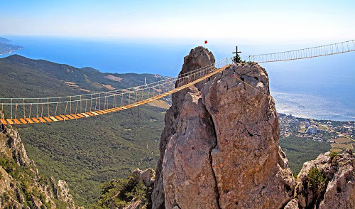 Passarelas do Mounte Ai-Petry - Crimea - Ucrânia