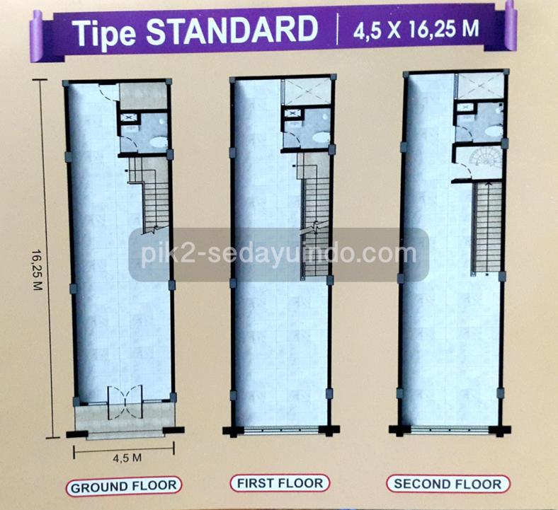 Unit Rukan PIK 2 Standard