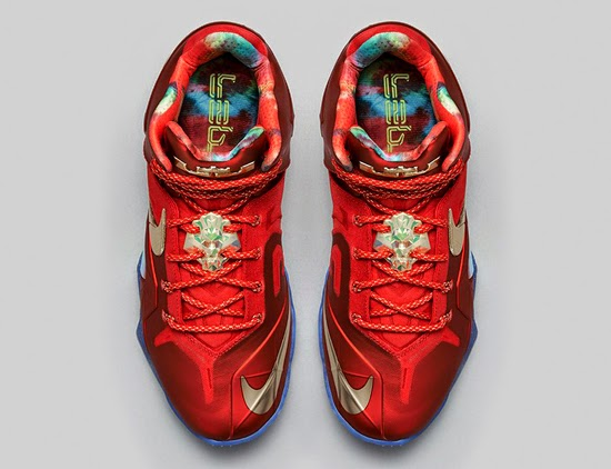 low priced 1fa42 896fd ajordanxi Your  1 Source For Sneaker Release Dates  Nike LeBron 11 Elite SE University  Red Metallic Gold Release Reminder