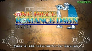 Download Gratis One Piece Romance Dawn Apk ISO PPSSPP For Android Terbaru 2016