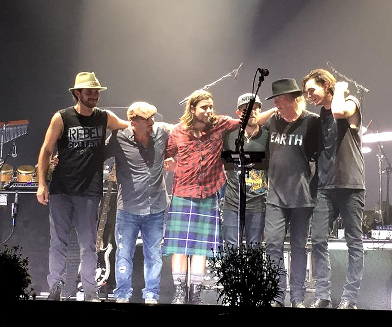 Something is. neil young tour