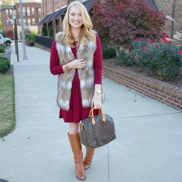 chicwish faux fur, strawberry chic, winter fashion, faux fur, affordable fashion looks