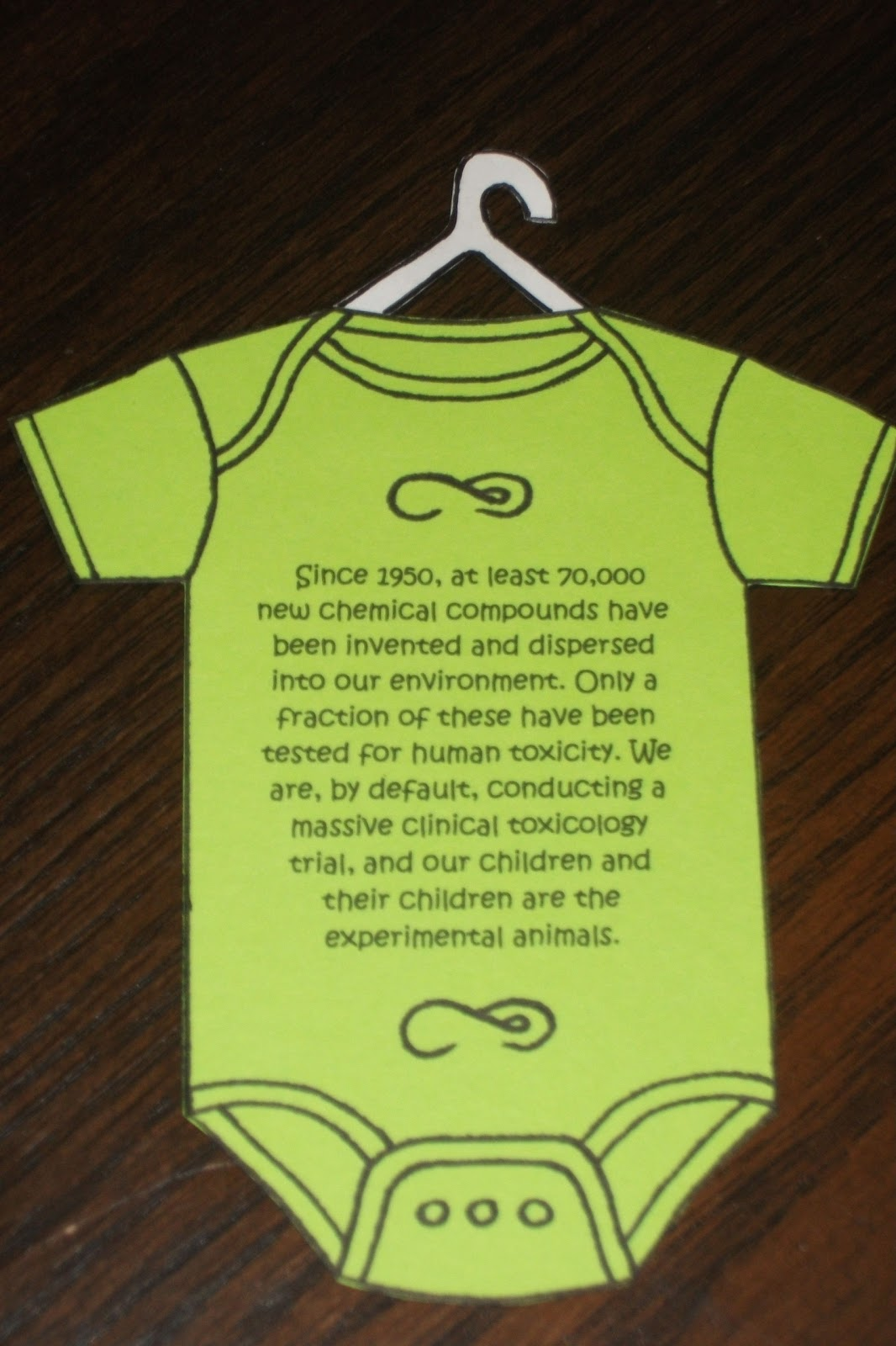 Be Barefoot Baby Shower T Idea