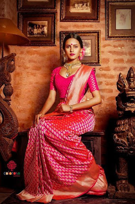 It is truly a wonderful choice among South Indian wedding sarees.