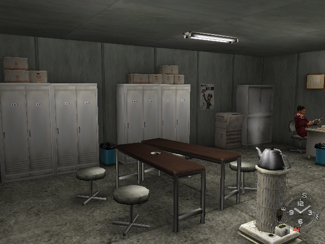 Bluemue S Shenmue Blog Alpha Trading Lockers