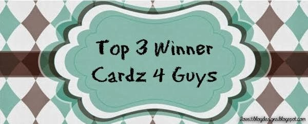 Cardz 4 Guyz TOP 3 Winners