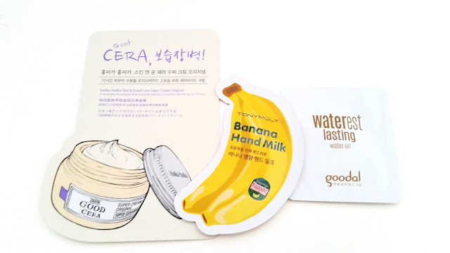 samples, Holika Holika, Tonymoly, Goodal