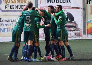 Celebración del 1-0 (Foto: Elena Martínez)