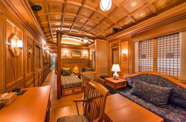 O trem mais luxuoso no Japão